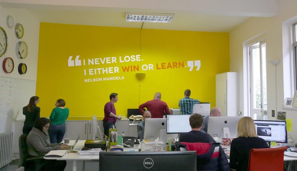 Shine Bid Services - Winning office environment